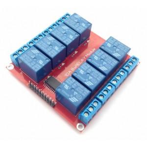 Релейный модуль 5В, 10А, 8 каналов