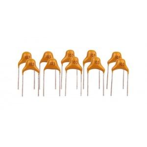 Конденсатор керамический 0,01 мкФ (5 штук)