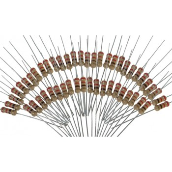 Набор резисторов - 50 шт.(разных номиналов)