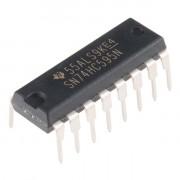 Микросхема 74HC595N (сдвиговый регистр)