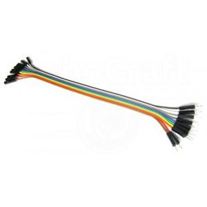 Соединительные провода ПАПА-МАМА 20 см - 10 шт