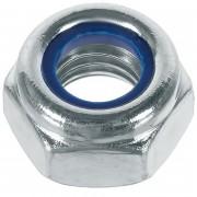 Гайка М4 DIN 985 (самоконтрящаяся) - 20 штук
